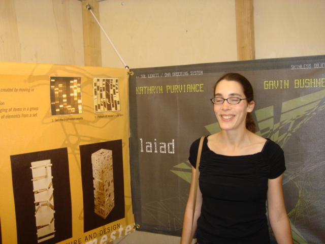 Me at the AIA Exhibit