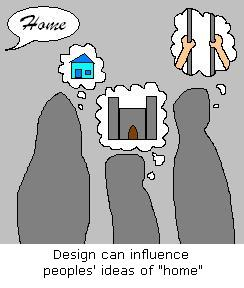 Design can influence your ideas of home