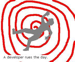 A developer rues the day